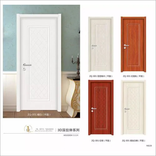 35mm white primer mdf moulded door