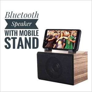 Bluetooth Speaker With Mobile Stand