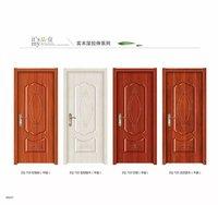 Moulded melamine interior door
