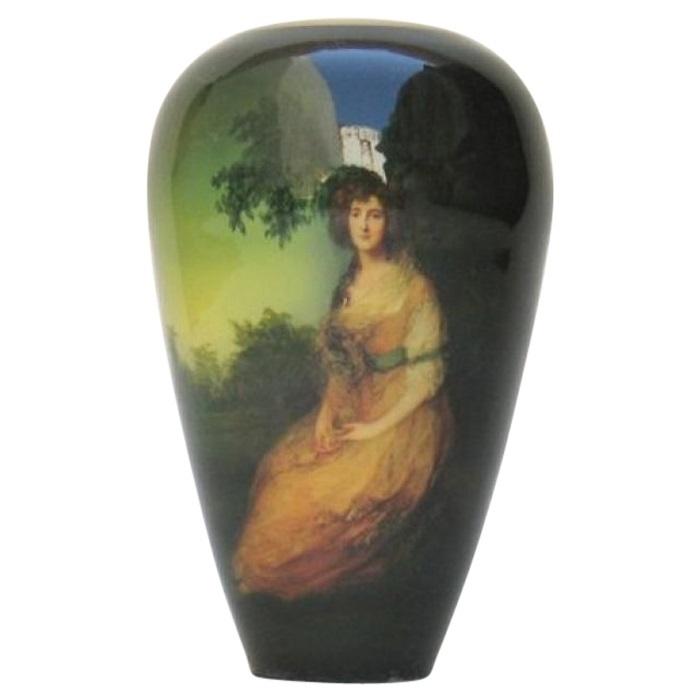 Brass Gainsborough Picture Vase