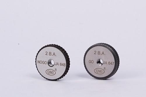 BA Thread Ring Gauges