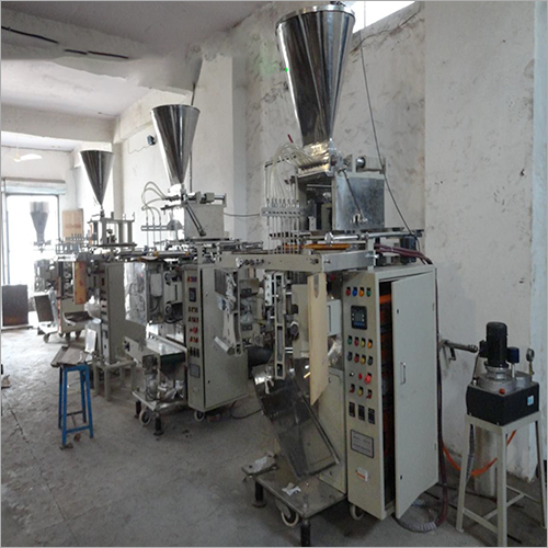 Sealing And Filliing Machine