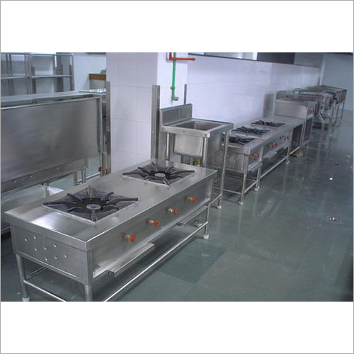 Commercial Kitchen Two Burner Gas Stove