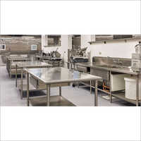 Stainless Steel Commercial Kitchen Design Service
