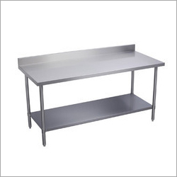Stainless Steel Work Table With One Under Shelf