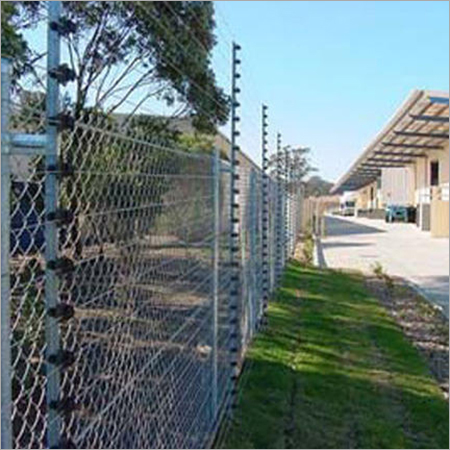 Commercial Solar Power Fence