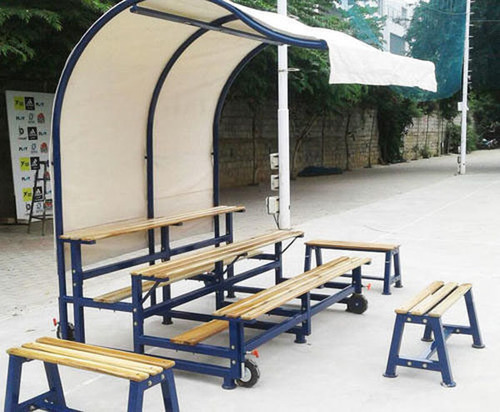 Portable Bleacher 15 Seating with extra 3 Benches