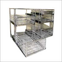 Kitchen SS Rack