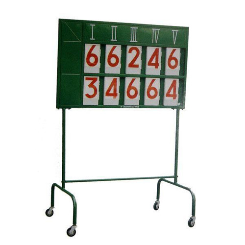 Tennis Scoreboard with Stand