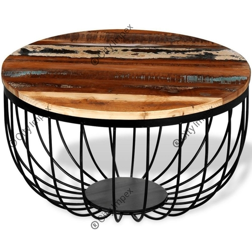 Prison Round Cafe Table