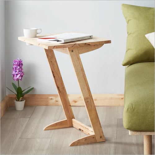 Wooden Z Shaped Laptop Table