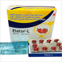 Softgel Capsules Of Lycopene Grape Seed Extract