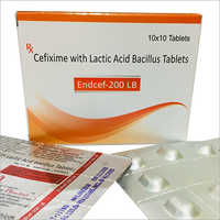 Cefixime With Lactic Acid Bacilus Tablets