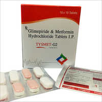 Glimepiride And Metformin Hydrochloride Tablets