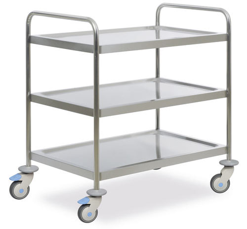Instrument cabinet trolley 3 shelves