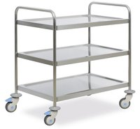 Instrument cabinet trolley 3 shelves