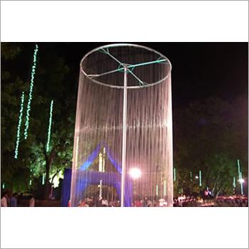 Round String Fountain