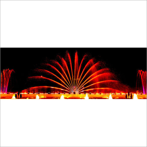 Musical Light Fountain
