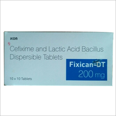 200 MG Cefixime And Lactic Acid Bacillus Dispersible Tablet