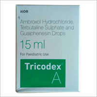 15 Ml Ambroxol Hydrochloride And Guaiphenesin Drop