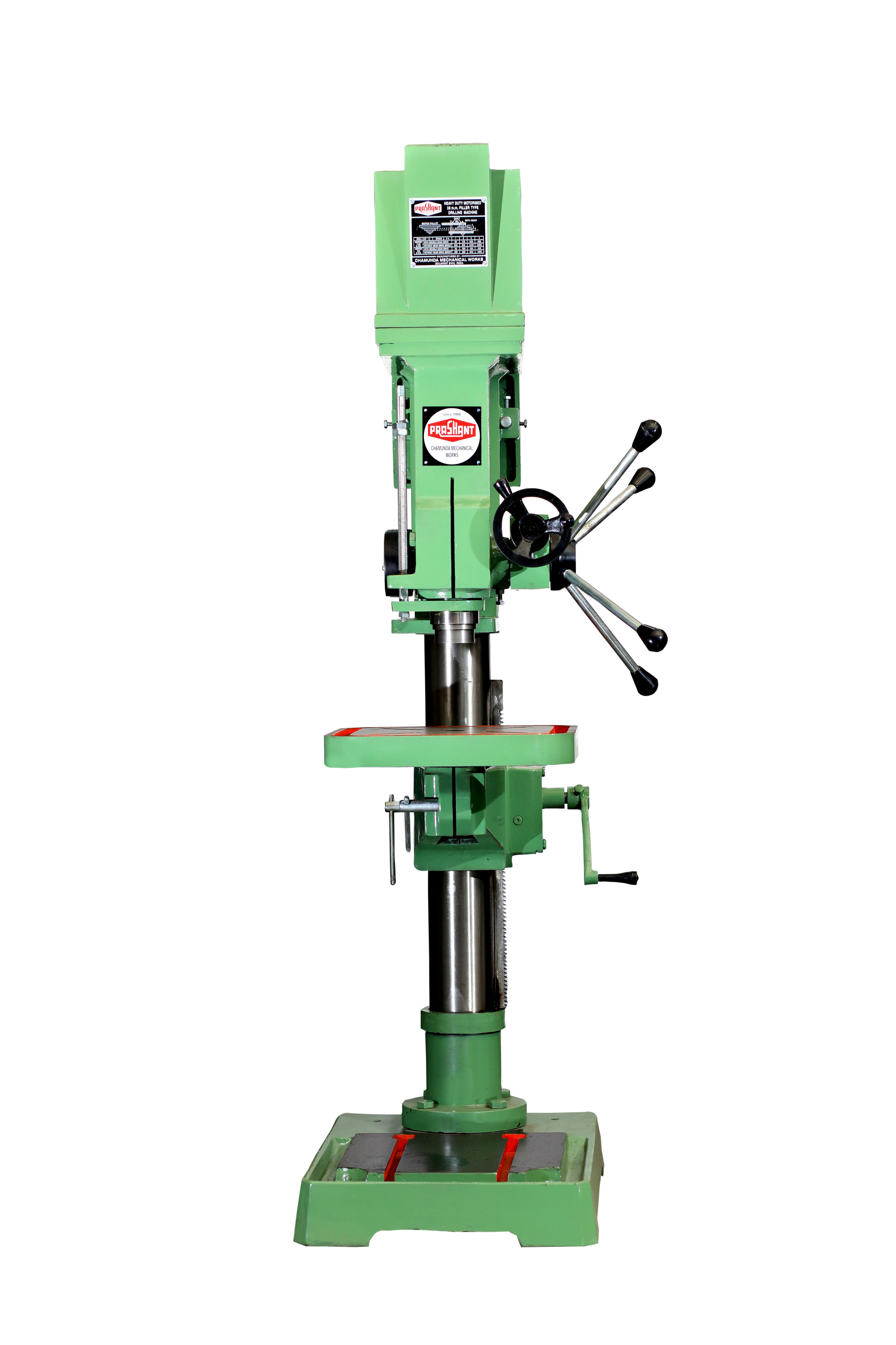38mm Heavy Duty Pillar Drill machines With Fine Feed