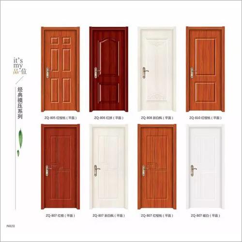 interior hollow core HDF molded door for living room bedroom