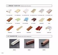 high quality water-proof 3D deep Mould wood grain WPC door