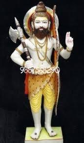 Marble Parshuram Statue