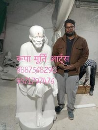 White Marble Sai Baba Statue Supplier