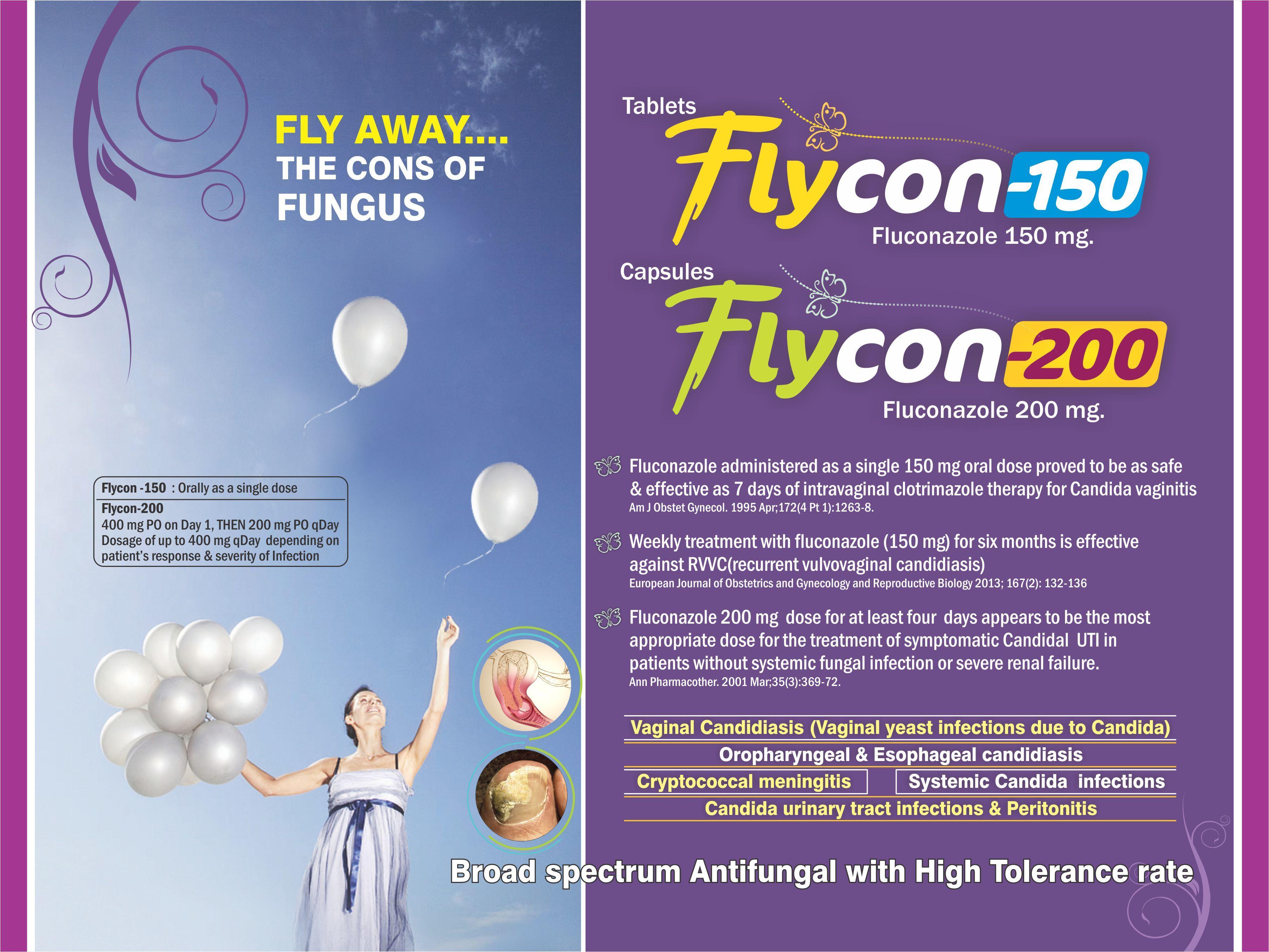 Fluconazole 150 mg Tablet & 200 mg Capsule