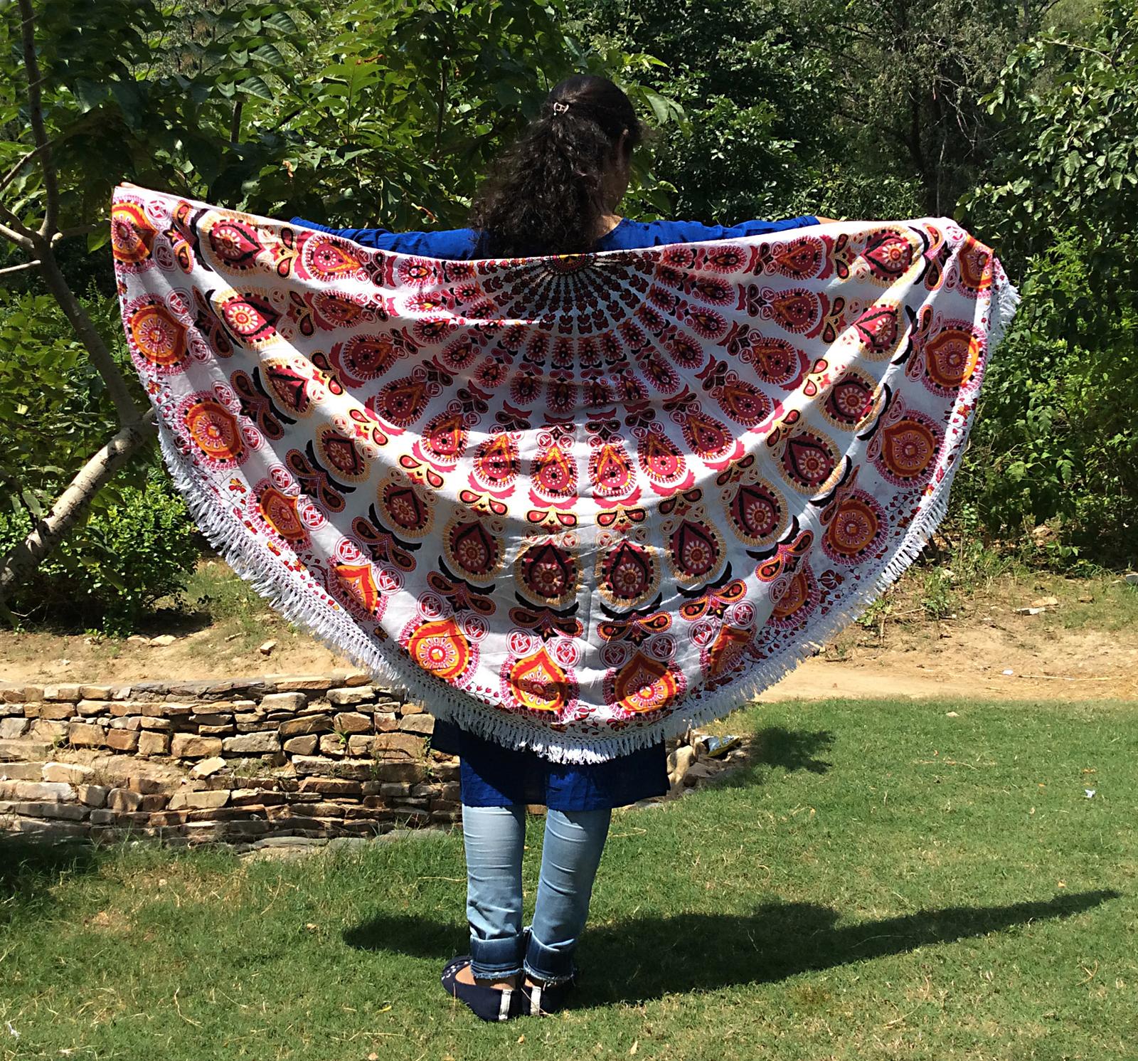 Round Mandala Tapestry