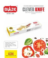 2 In 1 Knife & Chopping Board