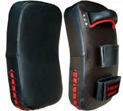 Boxing Leather Gel Thai Pads