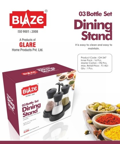 3 Bottle Set Dinning Stand
