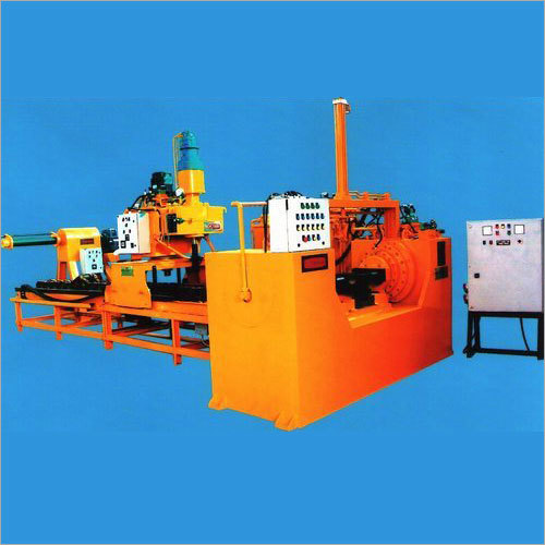 Hydraulic Double Ram Track Press
