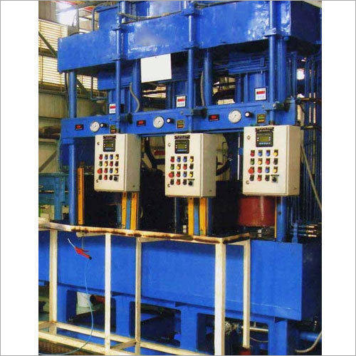 Three Station Hydraulic Quench Press