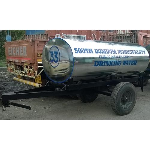2250 Ltr  Two Wheeler Water Tanker Trailer