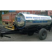2250 Ltr  Two Wheeler Water Tanker Trailer
