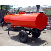 2500 Ltr  Two Wheeler Water Tanker Trailer