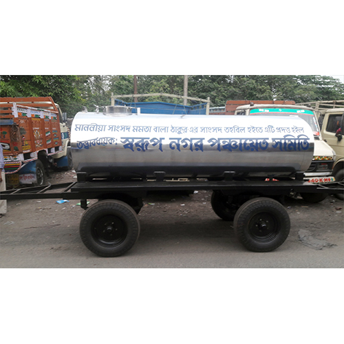 4000 Ltr Four Wheel Water Tanker Trailer