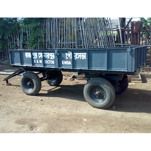 5 Ton 4 Wheeled Tractor Trailer