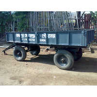 5 Ton 4 Wheeled Tractor Trailer