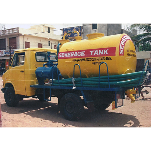 3000 Ltr Truck Mounted Suction Machine