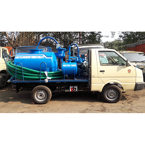 1200 Ltr Truck Mounted Suction Machine