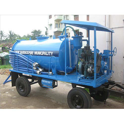 3000 Ltr Tractor Trailer Mounted Suction Machine