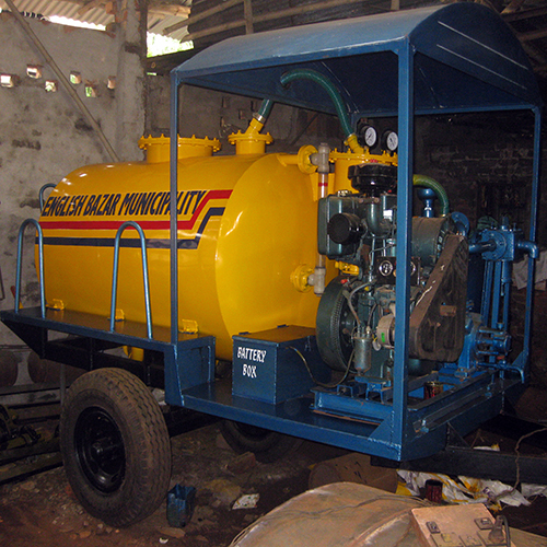 1600 Ltr  Tractor Trailer Mounted Suction Machine