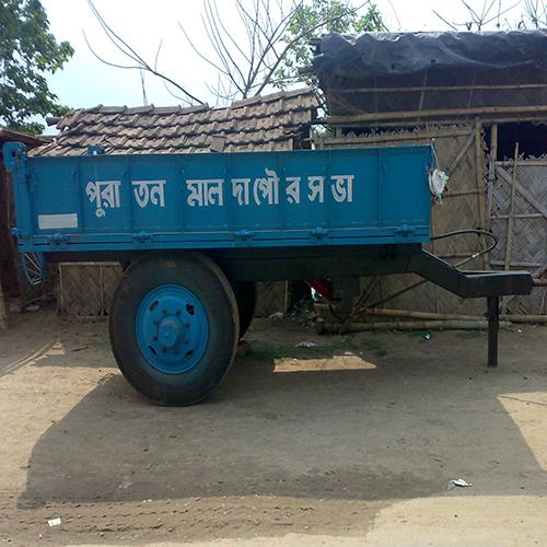 5 Ton Hydraulic Tractor Trailer
