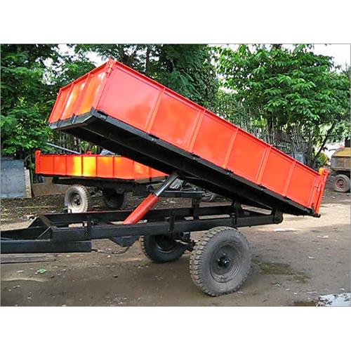 4 Ton Hydraulic Tractor Trailer