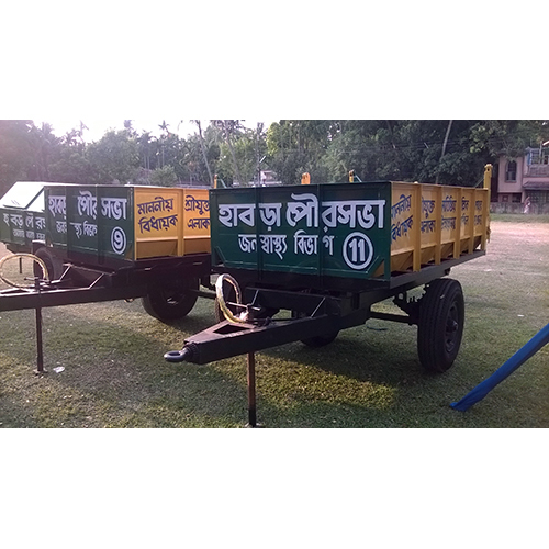 2 Ton Hydraulic Tractor Trailer