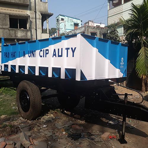 6 Ton Hydraulic Tractor Trailer